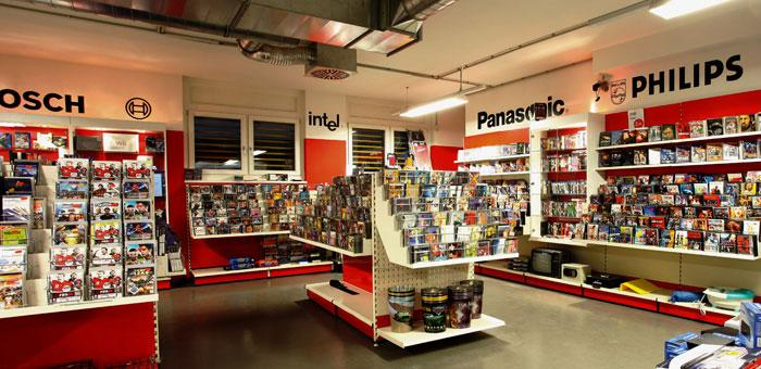 CDs, DVDs, Konsolen-Games und Videos
